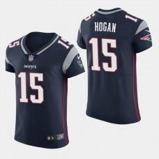 New England Patriots #15 Chris Hogan Elite Home Jersey - Navy