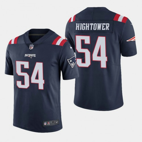 New England Patriots #54 Dont'a Hightower Color Rush Limited Home ...