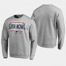 New England Patriots Neutral Zone Super Bowl LIII Champions T- Shirt - Gray