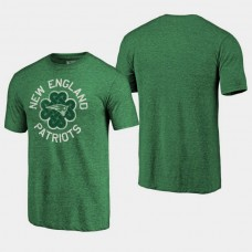 Fanatics Branded New England Patriots St. Patrick's Day Luck Tradition T- Shirt - Green