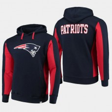Fanatics Branded New England Patriots Team Iconic Pullover Hoodie - Navy