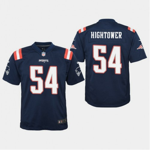 Youth New England Patriots #54 Dont'a Hightower Color Rush Game ...